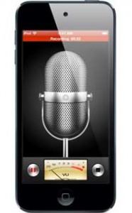 Redistratore vocale con Smartphone