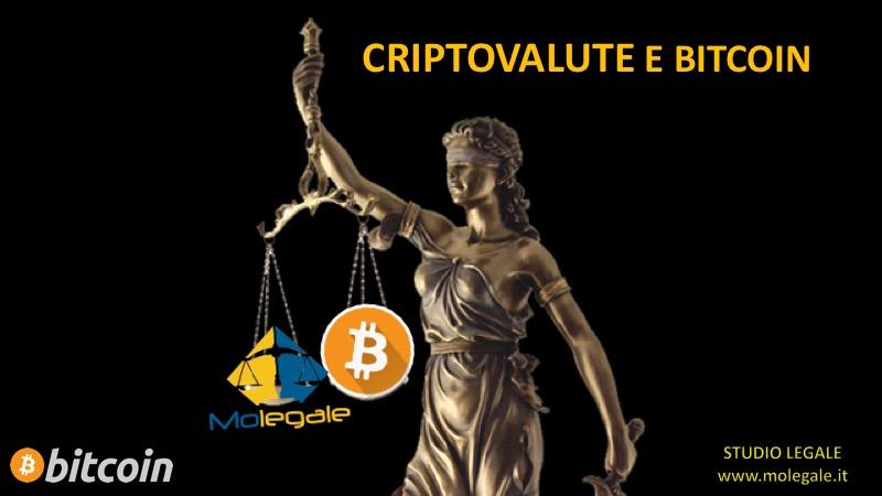criptovalute e bitcoin studio legale