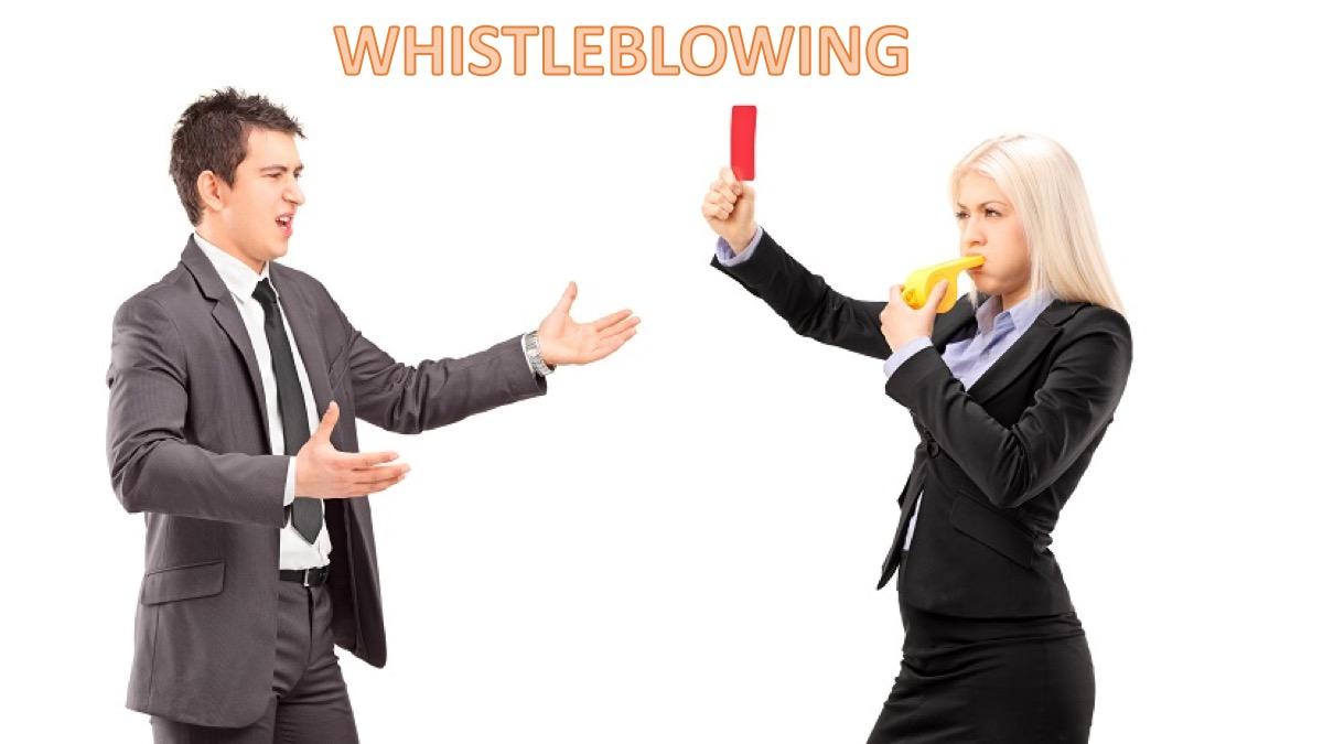 Whistleblowing denuncia nel mondo del lavoro