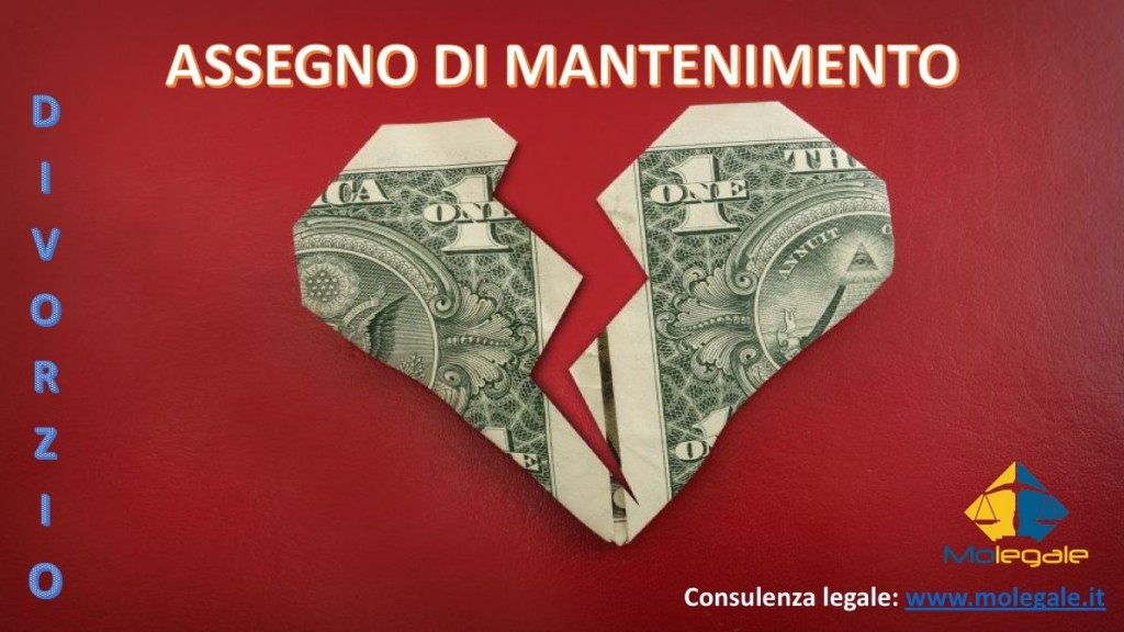 assegno di mantenimento nel divorzio avvocato matrimonialista