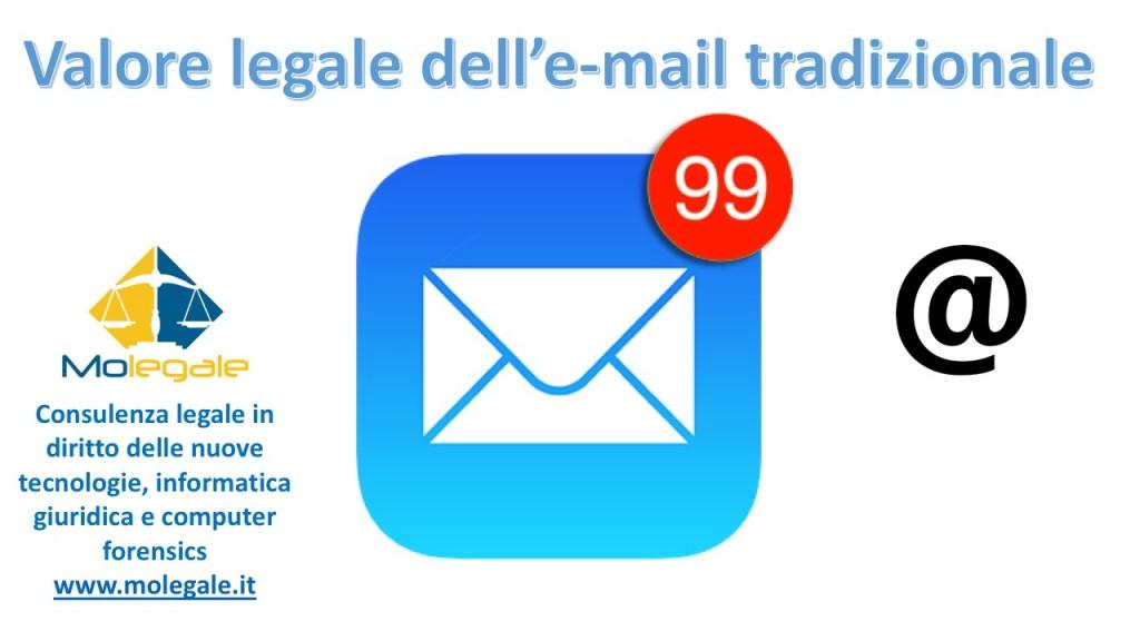 valore legale dell'email tradizionale