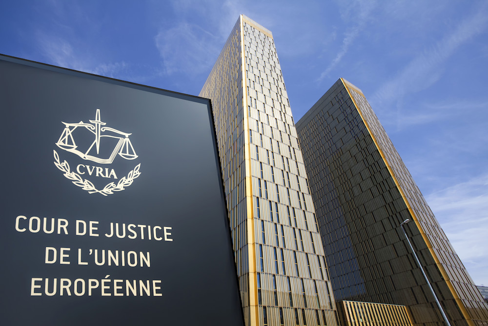 corte di giustizia Unione Europea