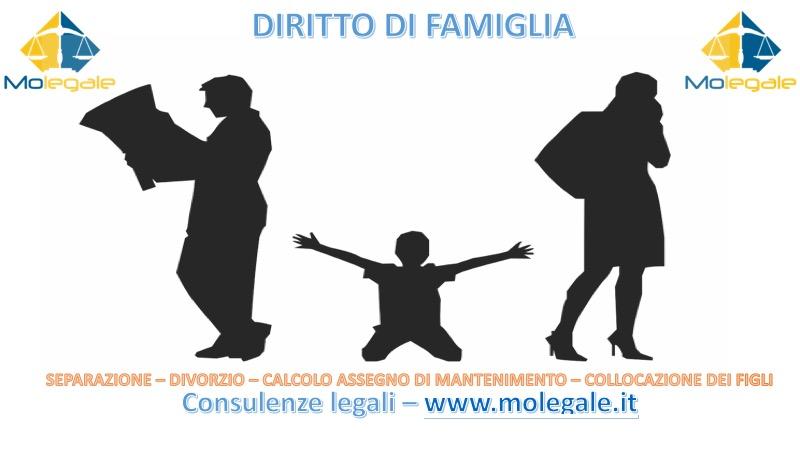 separazione, divorzio, biogenitorietà, assegno di mantenimento, collocazione dei figli