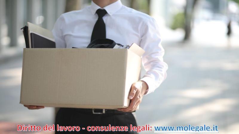 avvocato diritto del lavoro licenziamento studio legale a Pistoia