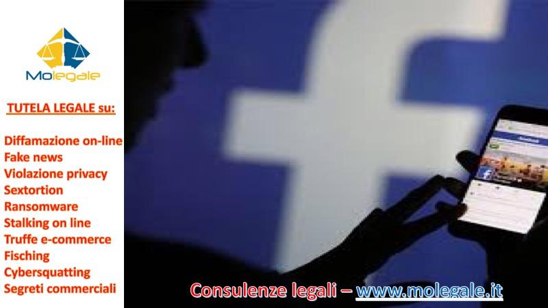 avvocato per causa diffamazione on line