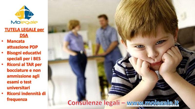 avvocato per tutela legale DSA studio legale